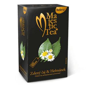 Biogena Majestic Tea Zelený čaj - Heřmánek 20 x 1,5 g