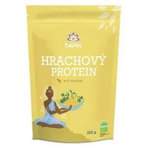Iswari Hrachový protein 80% BIO 250 g
