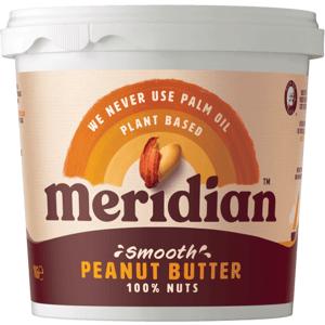 Meridian Arašídové máslo jemné 1000 g