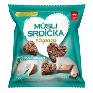 Semix Müsli srdíčka s čokoládou a kokosem 50 g