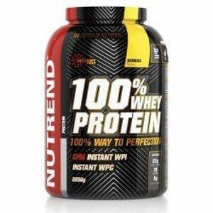 Nutrend 100% Whey Protein 2250 g - vanilka