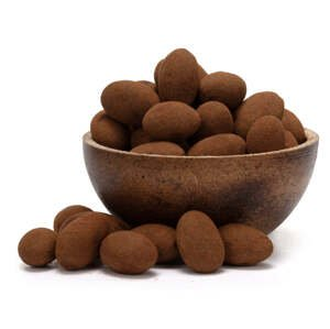 GRIZLY Mandle v čokoládové polevě se skořicí Exclusive 250 g