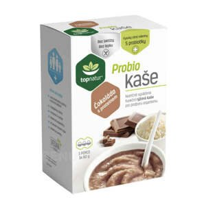 Topnatur Probio kaše čokoláda s proteinem 3x60 g