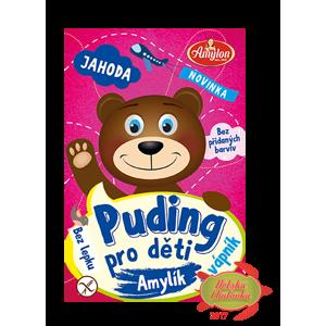 Amylon Puding jahodový  pro děti - bez lepku 40 g