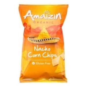 Amaizin Chipsy kukuřičné nacho BIO 150 g