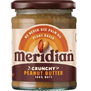 Meridian Arašídové máslo křupavé 280 g