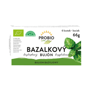 Biolinie Bujón bazalkový BIO kostky 6x0.5 l