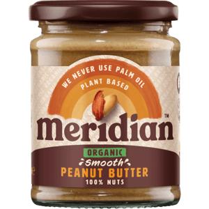 Meridian Bio Arašídové máslo jemné 280 g