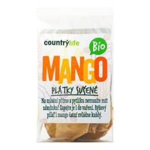 Country Life Mango plátky sušené BIO  80 g