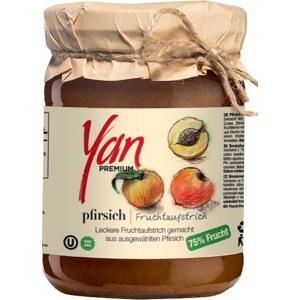 YAN Premium Broskvová marmeláda 300 g