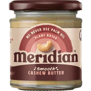 Meridian Kešu máslo jemné 170 g