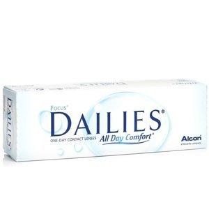Focus Dailies All Day Comfort (30 čoček) Dailies Jednodenní čočky sférické pro sport