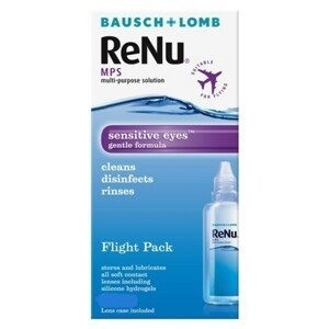 ReNu Mps Sensitive Eyes Flight Pack 100 ml s pouzdrem Renu