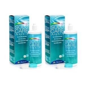 Solocare Aqua 2 x 360 ml s pouzdry Solocare