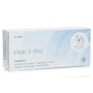Clear 1-day (30 čoček) Clear Jednodenní čočky sférické pro sport