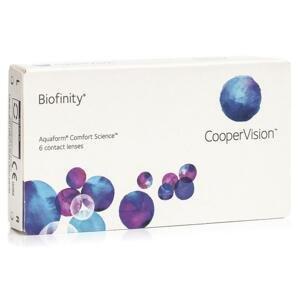 Biofinity (6 čoček) Biofinity Kontinuální čočky silikon-hydrogelové sférické