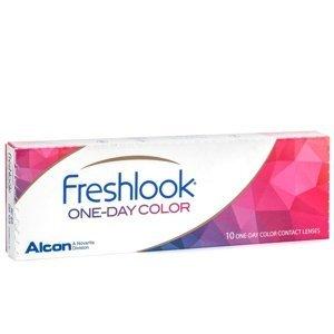 FreshLook One-Day (10 čoček) - nedioptrické Freshlook Jednodenní čočky barevné sférické pro sport