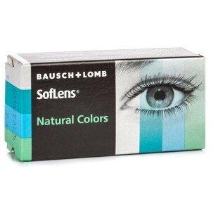 SofLens Natural Colors (2 čočky) - dioptrické Soflens Čtvrtletní čočky barevné sférické