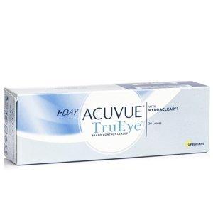1-Day Acuvue TruEye (30 čoček) Acuvue Jednodenní čočky silikon-hydrogelové sférické pro sport