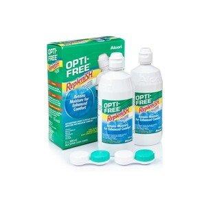 Opti-Free RepleniSH 2 x 300 ml s pouzdry Opti-Free