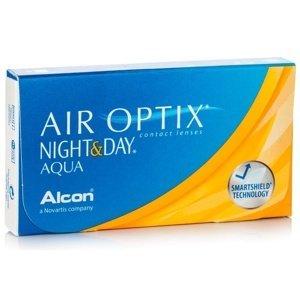 Air Optix Night & Day Aqua (3 čočky) Air Optix Kontinuální čočky silikon-hydrogelové sférické