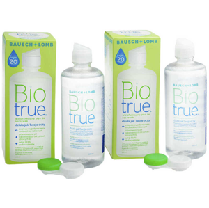Biotrue Multi-Purpose 2 x 300 ml s pouzdry Biotrue