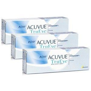 1-Day Acuvue TruEye (90 čoček) Acuvue Jednodenní čočky silikon-hydrogelové sférické pro sport