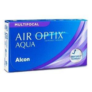Air Optix Aqua Multifocal (3 čočky) Air Optix Měsíční čočky multifokální