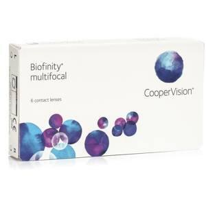 Biofinity Multifocal (6 čoček) Biofinity Kontinuální čočky silikon-hydrogelové multifokální