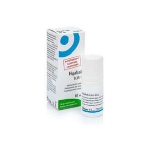 Hyabak 0.15% gtt. 10ml Ostatní oční kapky