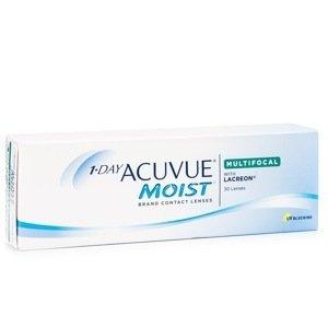 1-Day Acuvue Moist Multifocal (30 čoček) Acuvue Jednodenní čočky multifokální pro sport