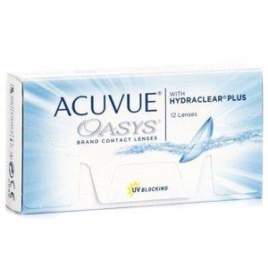 Acuvue Oasys (12 čoček) Acuvue 2 týdenní čočky silikon-hydrogelové sférické