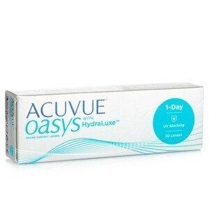 Acuvue Oasys 1-Day with HydraLuxe (30 čoček) Acuvue Jednodenní čočky silikon-hydrogelové sférické pro sport