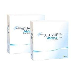 1-Day Acuvue Moist (180 čoček) Acuvue Jednodenní čočky sférické pro sport