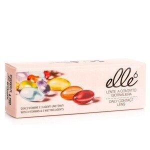 Elle6 (30 čoček) Ostatní kontaktní čočky Jednodenní čočky sférické pro sport