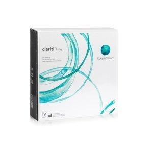 Clariti 1 day (90 čoček) Clariti Jednodenní čočky silikon-hydrogelové sférické pro sport