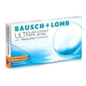 Bausch + Lomb Ultra for Astigmatism (6 čoček) Ostatní kontaktní čočky Měsíční čočky torické