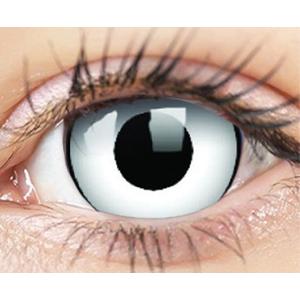 ColourVUE Crazy Lens (2 čočky) nedioptrické - White Zombie ColourVUE Čtvrtletní čočky barevné sférické