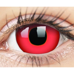 ColourVUE Crazy Lens (2 čočky) nedioptrické - Devil Red ColourVUE Čtvrtletní čočky barevné sférické