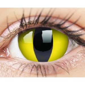 ColourVUE Crazy Lens (2 čočky) nedioptrické - Cat Eye ColourVUE Čtvrtletní čočky barevné sférické
