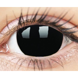 ColourVUE Crazy Lens (2 čočky) dioptrické - BlackOut ColourVUE Čtvrtletní čočky barevné sférické