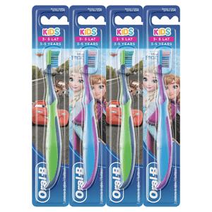 Oral-B Kids Manuální Zubní Kartáček S Postavičkami Z Ledového Království/ Aut