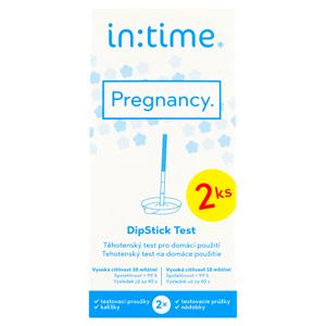 intime Pregnancy DipStick 2 ks