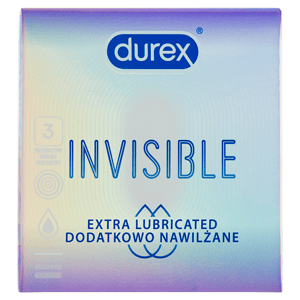 Durex Invisible kondomy 3 ks