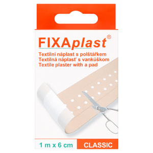 Fixaplast Textilní náplast s polštářkem