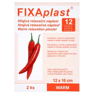 Fixaplast Hřejivá relaxační náplast 2 ks