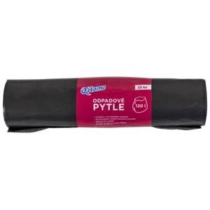 Q-Home Odpadové pytle 120l 25 ks černé