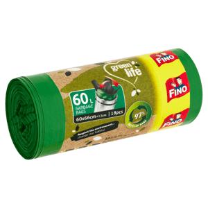 Fino Green Life Pytle na odpadky 60 l 18 ks