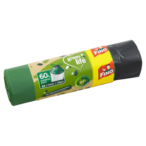 Fino Green Life Pytle na odpadky 60l 10 ks