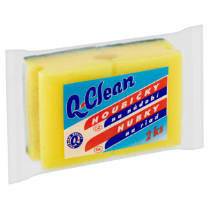 Q Clean Houbičky na nádobí 2 ks